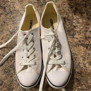 Converse white and black